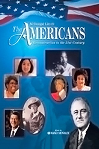 9780618032242: The Americans: Chapter Summaries on Audio CD (English/Spanish) Grades 9-12 Reconstruction to the 21st Century