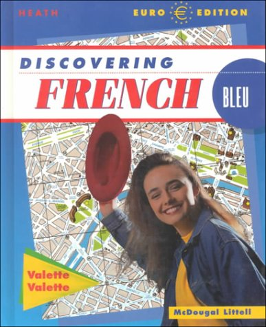 9780618035045: Discovering French: Student Edition Bleu Level 1 2001
