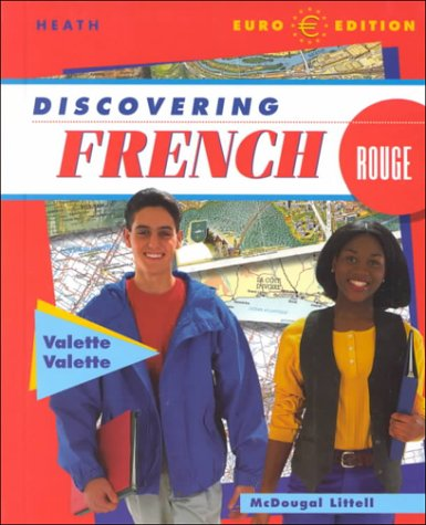 Download McDougal Littell Discovering French Nouveau: Student Edition Level 3 2001