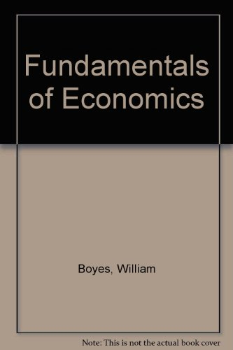 9780618035472: Fundamentals of Economics