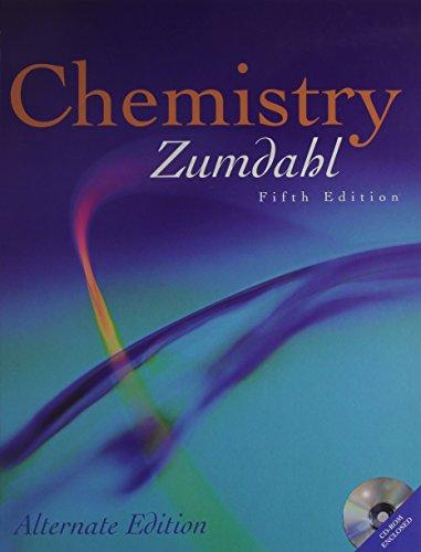 9780618035922: Chemistry: Alternate Edition