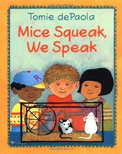9780618036332: Houghton Mifflin the Nation's Choice: Little Big Book Theme 1 Grade K Mice Squeak, We Speak
