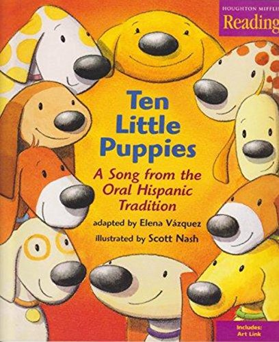 9780618036448: 10 Puppies Little Big Book Theme 5 Level K: Houghton Mifflin the Nation's Choice