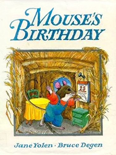 9780618036509: Houghton Mifflin the Nation's Choice: Little Big Book Theme 8 Grade K Mouse's Birthday