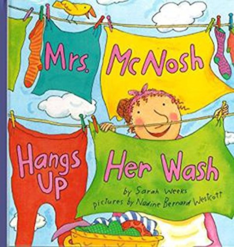 9780618036523: Houghton Mifflin the Nation's Choice: Little Big Book Theme 9 Grade K Mrs. McNosh Hangs Up Her Wash