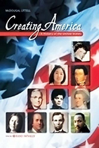 9780618037070: Creating America: A History of the United States: Critical Thinking Transparencies
