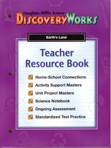 9780618039326: Discovery Works Teacher Resource Book-Earth's Land (Discovery Works)