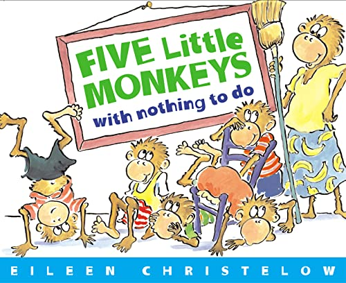 9780618040322: Five Little Monkeys with Nothing to Do