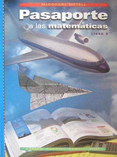 9780618041381: Pasaporte a las Matematicas Libro 2 California Edition