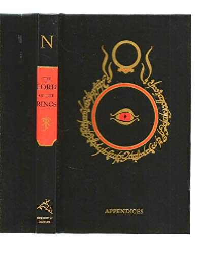 9780618042265: Appendices Final Book Lord of the Rings