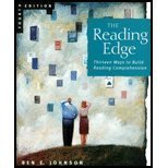 9780618042692: The Reading Edge: Thirteen Ways to Build Reading Comprehension