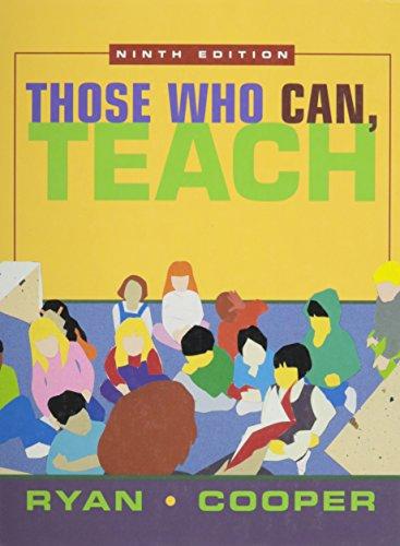 9780618042746: Those Who Can, Teach, Ninth Edition