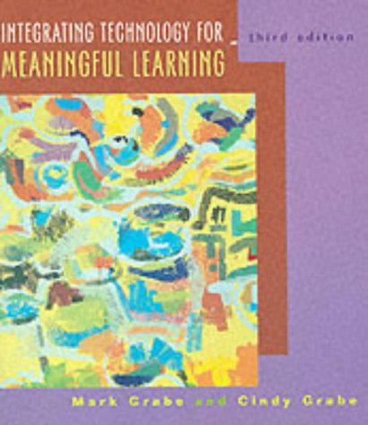9780618042913: Integrating Technology For Learning, Third Edition