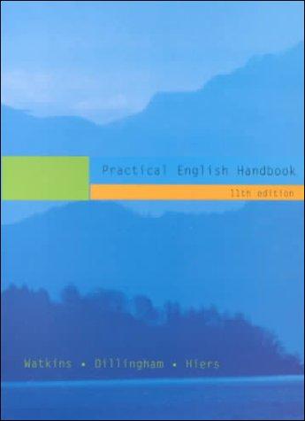 9780618043019: Practical English Handbook