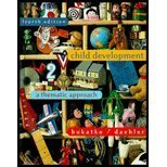 Child Development: A Thematic Approach, 4th: Bukatko, Danuta; Daehler, Marvin