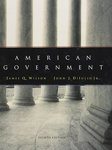 9780618043590: American Government, Eighth Edition