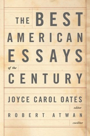 9780618043705: The Best American Essays of the Century