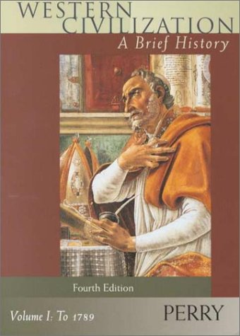 Western Civilization: A Brief History - Volume: Marvin Perry