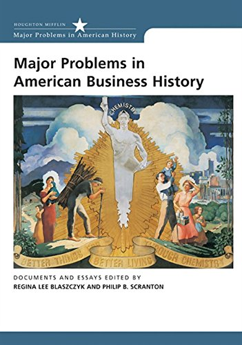 9780618044269: Major Problems in American Business History: Documents and Essays (Major Problems in American History Series)