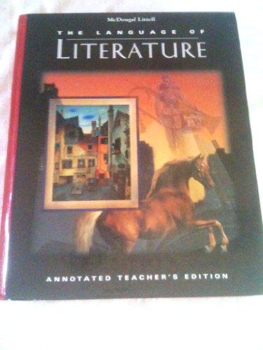 9780618045105: The Language of Literature