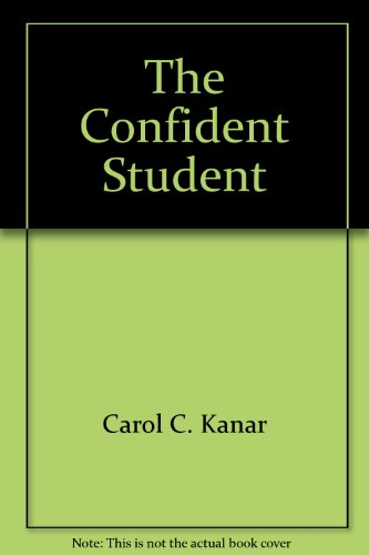 9780618046638: The Confident Student