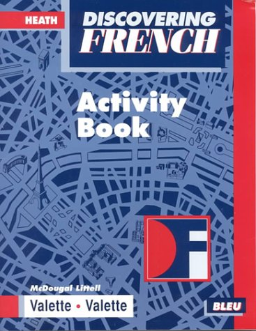 9780618047086: Discovering French: Activity Book Bleu Level 1