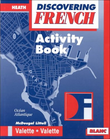 9780618047093: Discovering French - Blanc: Activity Book