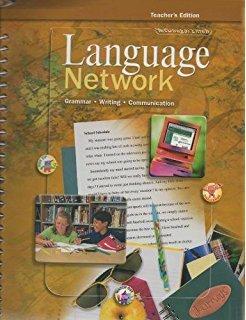 9780618047338: McDougal Littell Language Network: California Teacher's Edition (Grammar - Writing - Communication)