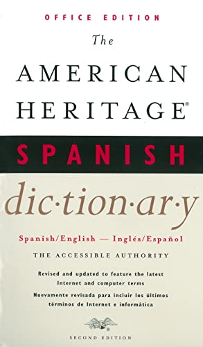 9780618048731: The American Heritage Spanish Dictionary, Second Edition: Office Edition