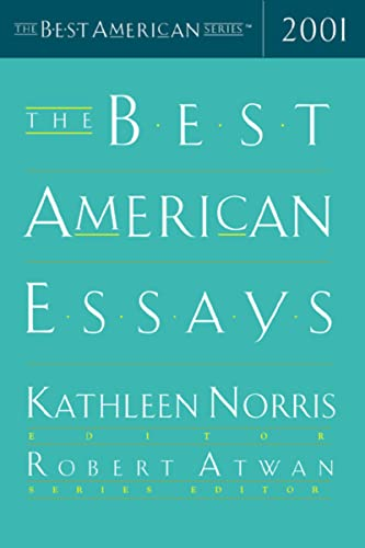The Best American Essays 2001 (The Best