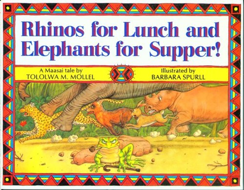 9780618051564: Rhinos for Lunch and Elephants for Supper!