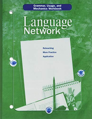 9780618052608: McDougal Littell Language Network: Grammar, Usage, and Mechanics Workbook Grade 08