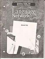 9780618052653: Grammar, Usage, and Mechanics Workbook Answer key Grade 6 (Language Network)