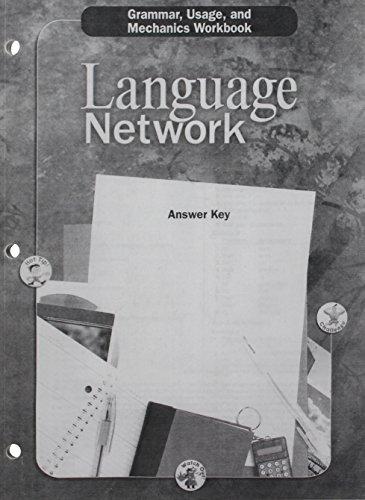 9780618052684: Language Network: Grammar, Usage, and Mechanics Answer Key Grade 9
