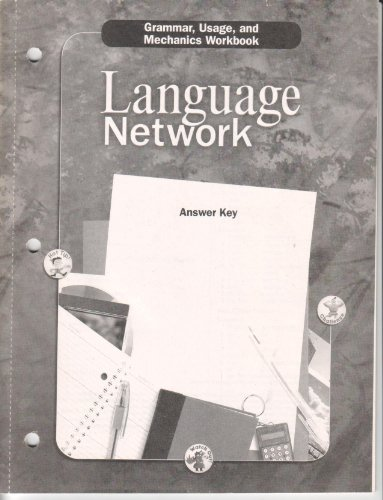 9780618052691: McDougal Littell Language Network: Grammar, Usage, and Mechanics Answer Key Grade 10