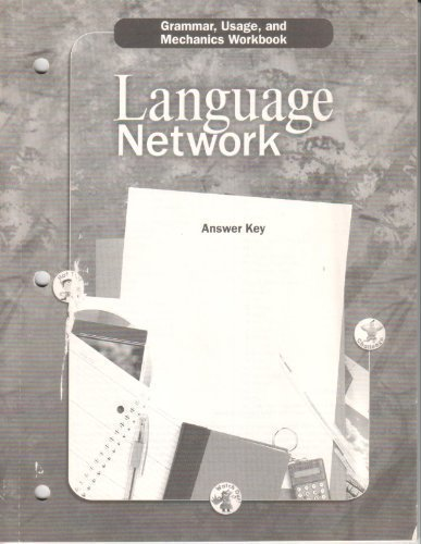 9780618052707: Language Network: Grammer, Usage, and Mechanics Workbook