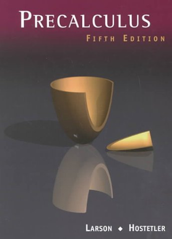 Precalculus (0618052852) by Robert P. Hostetler; Ron Larson