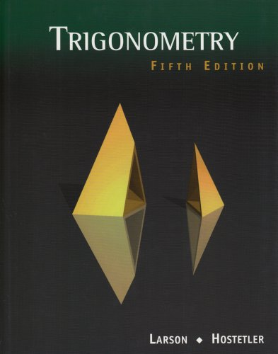 9780618052868: Trigonometry, 5th Edition