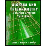 9780618052875: Algebra And Trigonometry: A Graphing Approach Third Edition