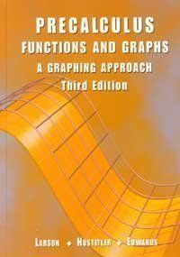 9780618052905: Pre Calculus Functions and Graphs: A Graphing Approach