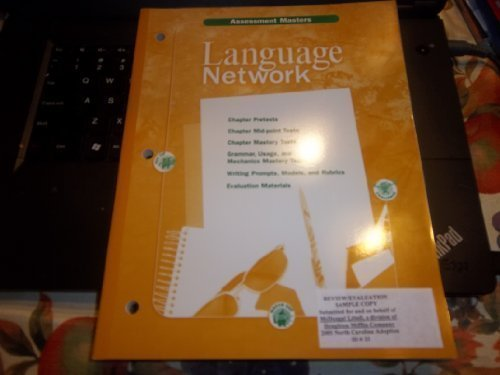 9780618053025: Assessment Masters Grade 6 (Language Network)