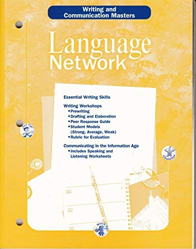 Language Network: Writing and Communication Masters: McDougall Littell