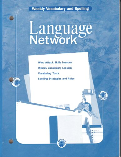 9780618053216: McDougal Littell Language Network: Weekly Vocabulary and Spelling (Copymasters) Grade 10