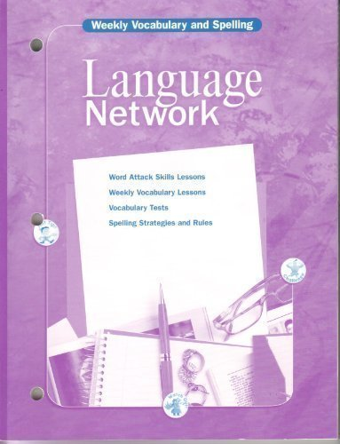 9780618053230: McDougal Littell Language Network: Weekly Vocabulary and Spelling (Copymasters) Grade 12