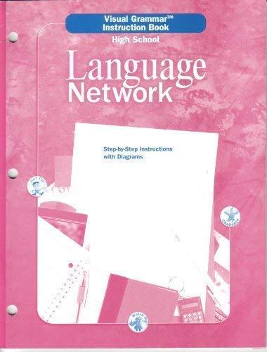 9780618053438: Visual Grammar Instruction Book (High School) Language Network (McDougal Little Language Network)