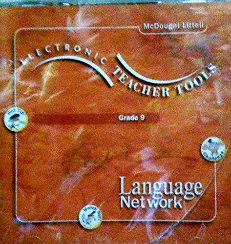 9780618053810: Language Network: Electronic Teacher Tools CD-ROM Grade 9