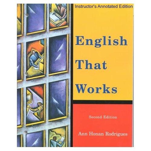 9780618054176: English That Works Iae 2e