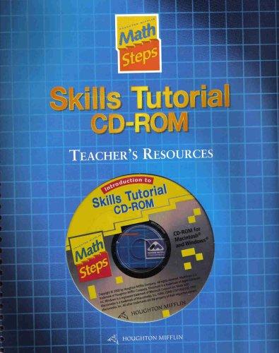 9780618054619: Houghton Mifflin Math Steps: Mth Stp Skill Tut Teach Res & Cd 2000
