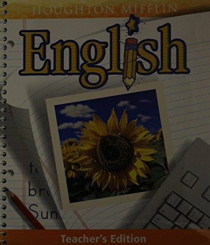 Houghton Mifflin English: Level 2, Teacher's Edition: HOUGHTON MIFFLIN