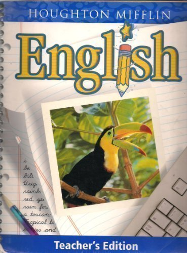 9780618055173: Houghton Mifflin English: Level 4, Teacher's Edition